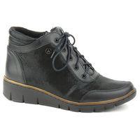 Helios Sneakersy 531 - czarny