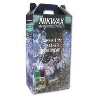 zestaw pielęgnacyjny do obuwia ze skóry licowej nikwax marki Nikwax