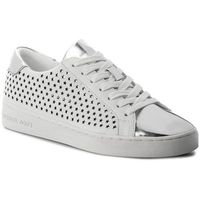 Sneakersy MICHAEL KORS - Irving Lace Up 43R8IRFS1L Optic White, 1 rozmiar