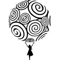 Naklejka dekoracyjna abstrakcje 73 - cały świat należy do ciebie! marki Szabloneria
