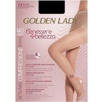 GOLDEN LADY Benessere Bellezza 70 • Rozmiar: 5/XL • Kolor: NERO, Benessere Bellezza 70 5/XL Nero