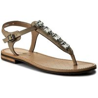 Sandały GEOX - D Sozy A D822CA 000GA C5002 Cream, kolor beżowy