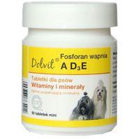 Dolfos fosforan wapnia z ad- preparat witaminowo - mineralny dla psów mini 90tab. (5906764765412)