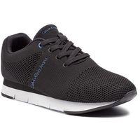 Sneakersy jeans - jado mesh s1451 black marki Calvin klein