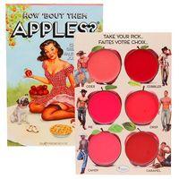Thebalm how 'bout them apples? | paleta kremowych róży i szminek - 20g