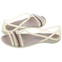 Sandały isabella sandal w oyster 202465-11o (cr100-f) marki Crocs