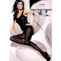 Rajstopy Inez Margherita 40 den 4-XL, grafitowy/fumo. Inez, 4-XL, 3-L, 2-M, 5-2XL