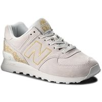 Sneakersy NEW BALANCE - WL574NGA Beżowy, kolor beżowy
