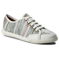 Półbuty - amelia 32002-32-99 biały kolorowy marki Kazar