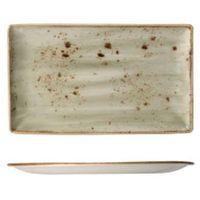 Półmisek 370 x 165 mm, zielony | STEELITE, Craft