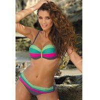 Kostium kąpielowy model taylor ardesia-frezeze-maldive rosa schocking m-350 grey/green/pink, Marko