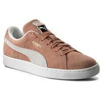 Sneakersy - suede classic 365347 06 muted clay/puma white, Puma, 36-41