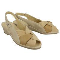 MARCO TOZZI 28910-28 beige comb, sandały damskie - Beżowy