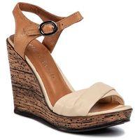 Sandały SERGIO BARDI - SB-50-09-000474 103, kolor beżowy