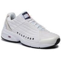 Sneakersy - heritage tommy jeans sneaker en0en00662 white ybs marki Tommy jeans