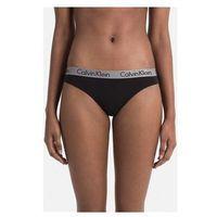 Stringi Calvin Klein Jeans 000QD3539E THONG BIELIZNA kobieta BLACK