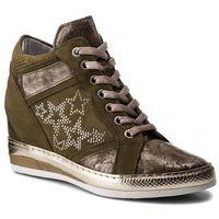 Sneakersy - 181k7114pksq oliva/oliva/bianco, Khrio