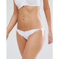 Pour moi tie side bikini bottom - white