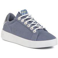 Sneakersy - brixton fun pls30967 blue print 548 marki Pepe jeans