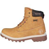 Buty za kostkę botki damskie CARRERA JEANS - NEVADA_CAW721051-02, kolor brązowy