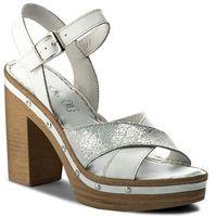 Sandały - f551 biały marki Lasocki