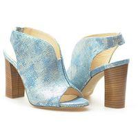Sandały 3431 lucert jeans niebieskie, Venezia