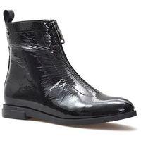 Botki b7270-69 czarne lakier marki Badura