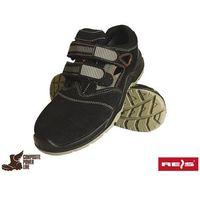 Sandały robocze czarne Reis BCA-BRUGIA-S1P SB 47