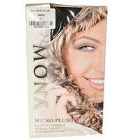 Mona Rajstopy micro plush 200 den 2-4 4-l, czarny/nero, mona