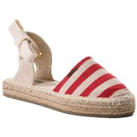 Espadryle - aa274688 red, Big star, 36-41