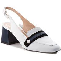 Sandały EVA MINGE - Manises 3B 18SF1372460ES 102, kolor biały