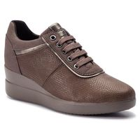 Sneakersy GEOX - D Stardust A D8430A 09DAF C6132 Chestnut/Taupe, kolor brązowy