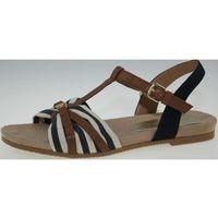 Tom Tailor sandały damskie 37 brązowy, kolor brązowy