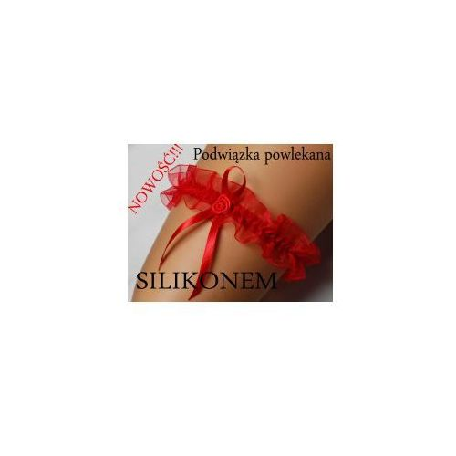 Podwiązka czerwona ENJOY Eva silikon, eva silicon red