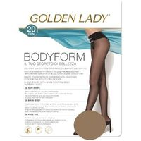 Golden lady Rajstopy bodyform 20 den rozmiar: 4-l, kolor: beżowy/daino, golden lady