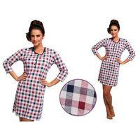 Koszula nocna naomi: granat/fiolet marki Cornette