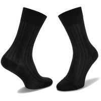 Joop! Skarpety wysokie unisex - new two tone sock i er 900.078 black 2000