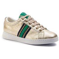 Sneakersy GEOX - D Jaysen A D921BA 0VIBC C2L3Q Lt Gold/Green, kolor żółty