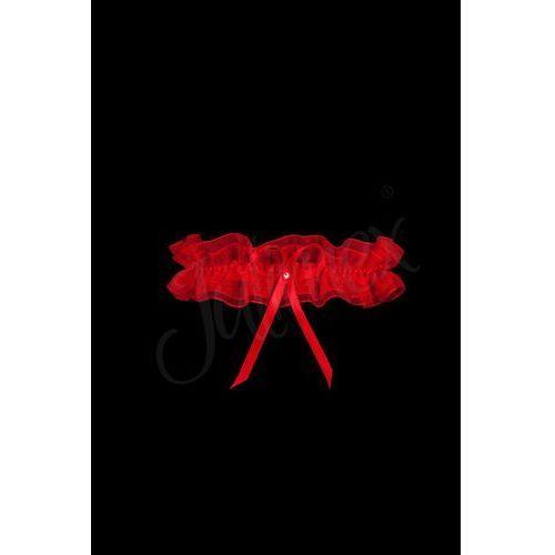 podwiązka pw 03 czerwony, Julimex