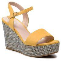 Sandały GINO ROSSI - Tai DNI381-444-0020-2100-0 11, kolor żółty
