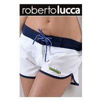 szorty rl13129 hawai white marki Roberto lucca