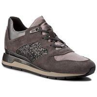 Sneakersy GEOX - D Shahira B D62N1B 022EW C9278 Dk Grey/Anthracite, kolor szary