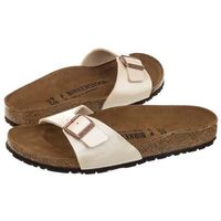 Klapki Birkenstock Madrid Graceful Pearl White 0940153 (BK41-d), 0940153