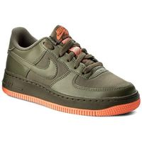 Buty NIKE - Air Force 1 Lv8 (Gs) 820438 206 Medium Olive, kolor zielony
