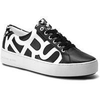 Sneakersy MICHAEL MICHAEL KORS - Poppy Lace Up 43S9POFS5L Blk/Opticwht