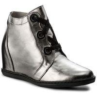 Sneakersy EKSBUT - 77-4655-G56/00K-1G Koronka