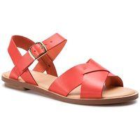 Sandały CLARKS - Willow Gild 261407764 Orange Leather 261407764, w 8 rozmiarach