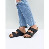 Birkenstock Arizona Black Flat Sandals - Black
