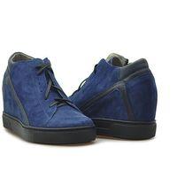Sneakersy 625/gr.nk granatowe zamsz, Kiera