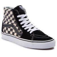 Vans Sneakersy - sk8-hi vn0a38gevjm1 (blur check) black/classi